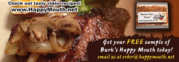 "FREE sample of Burk's ""Hap..."
